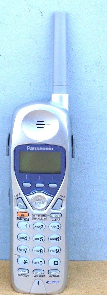 Panasonic KX TGA270S Handset - cordless phone base TG2730 TG2740 TG2750 TG2770