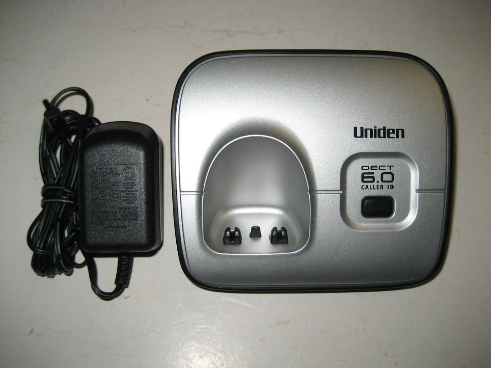 Uniden Dect 1660-5 main charger base w/PSU - 6.0 GHz cordless phone charging