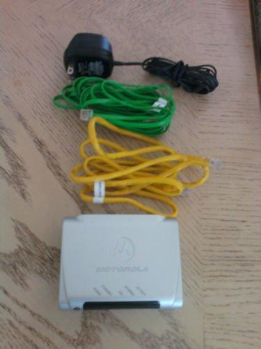 Motorola 2201 DSL ATT Modem High Speed ethernet internet AT&T model w/EXTRAS