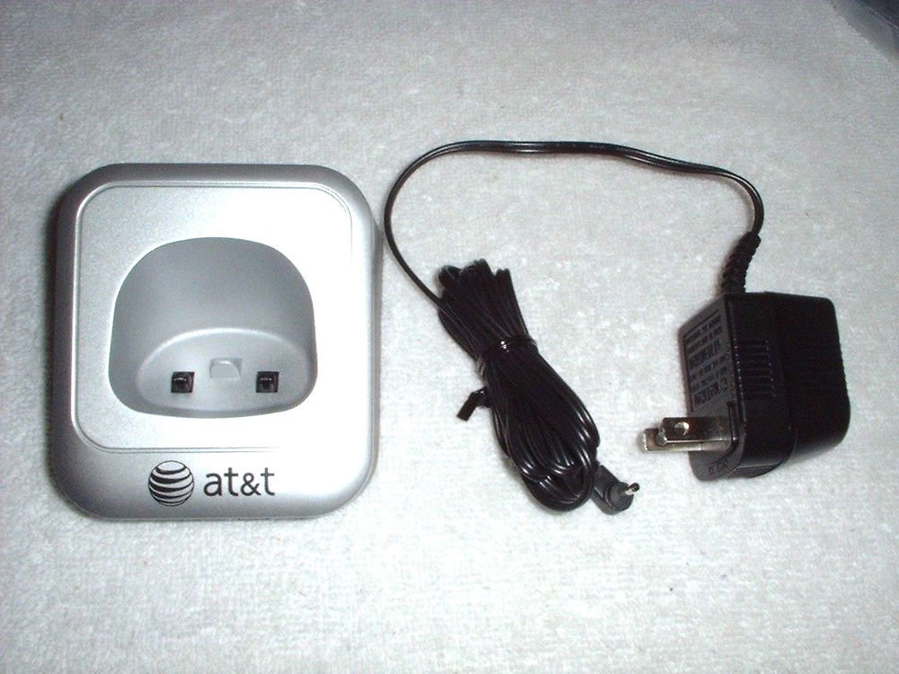 AT T charger base w/PS = EL52200 EL52210 EL52250 EL52300 EL52400 cradle stand ac