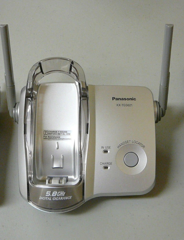 Panasonic KX TG5621S Main Base - cordless phone TGA561S handset stand cradle ac