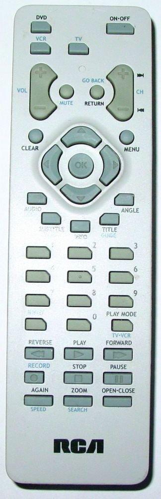 RCA RCR311DA1 260607 REMOTE CONTROL - DVD DRC 105 108 212 233 240 310 311 6100