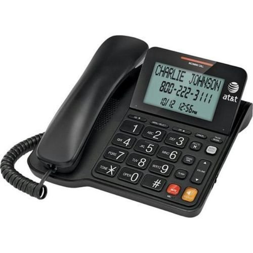 BIG number button AT T CL2940 telephone speaker phone large tilt LCD screen att
