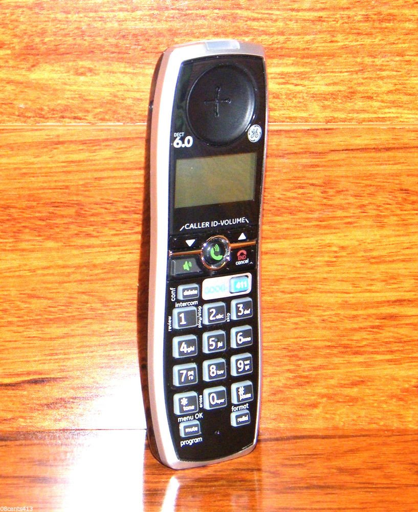 GE HANDSET 28821FE2 - Dect 6.0 digital cordless Phone Answering System GOOG 411