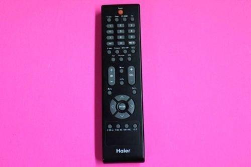 HAIER remote control B8080124 video PC HDMI TV V-Chip audio sleep freeze MTS EPG