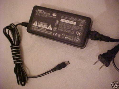 L10A SONY ac adapter CHARGER - Digital MVC CD1000 camera video charging power dc
