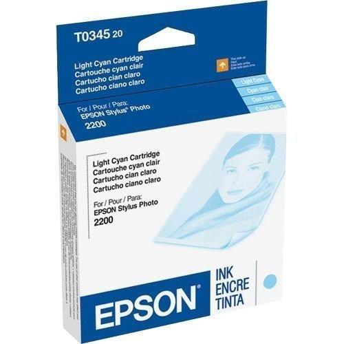 Epson T034520 lt.blue ink C13T034520 GENUINE - stylus photo printer 2200 2100