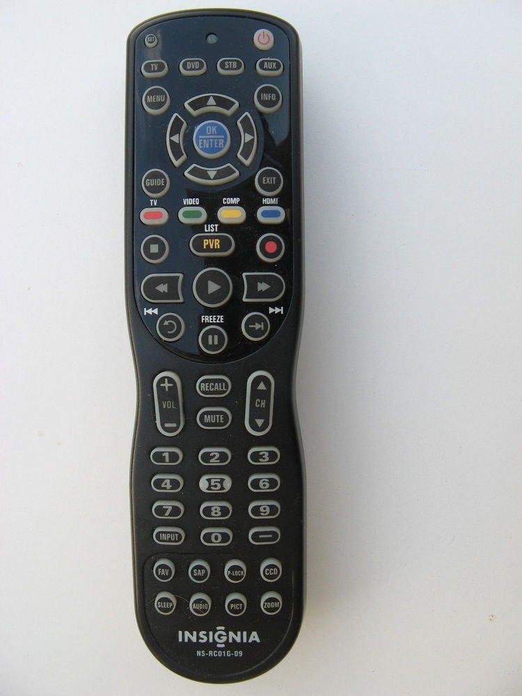 """INSIGNIA Remote Control NS RC01G 09 - 46"""" LCD TV NS L46Q12010A NS L322Q L32Q 10A"""