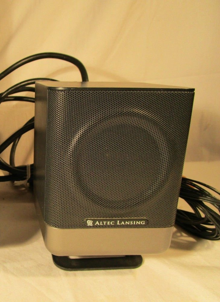 Altec Lansing 251 - remote Satellite Speaker ONLY - LEFT FRONT - 5.1 surround
