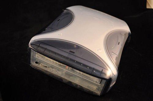 QUE! DRIVE FIRE wire QPS 525 external CD RW case console QPS525 que drive VAC