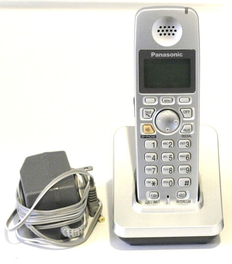 PANASONIC TGA600 S & PQLV30054ZAS remote base w/P = 5.8GHz CORDLESS PHONE TG6051