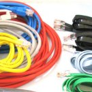 25 standard (6ft+) internet modem plug computer cords cables bunch router wires