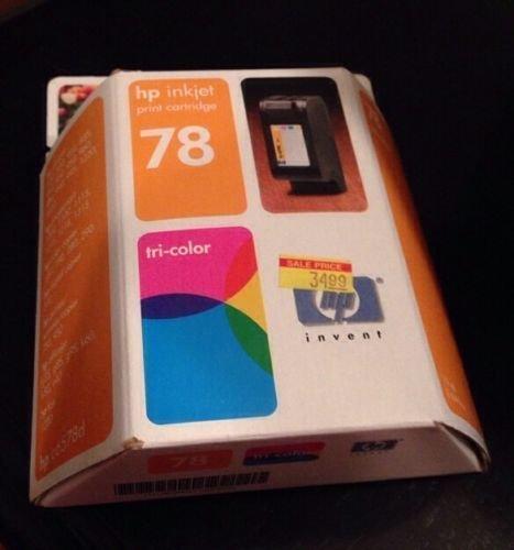 78 TRI COLOR ink jet Cartridge HP PhotoSmart 1315 P1000 1218 1215 printer