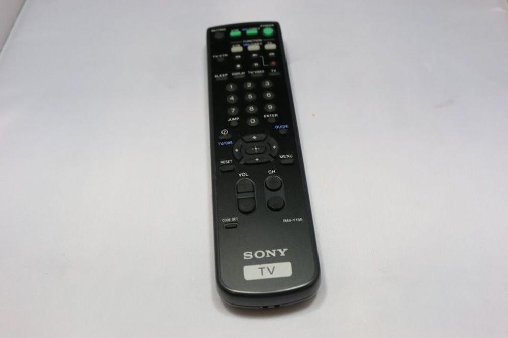 Sony RM Y135 Remote Control - TV KV 27S20 KV 27V20 KV 27V25 KV 29RS20 KV 32S20