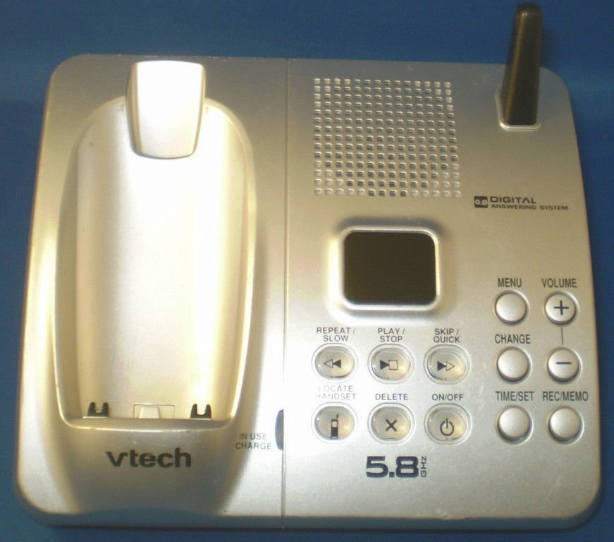 Vtech IA5874 main base w/PSU - DECT CORDLESS PHONE v tech charging ac telephone
