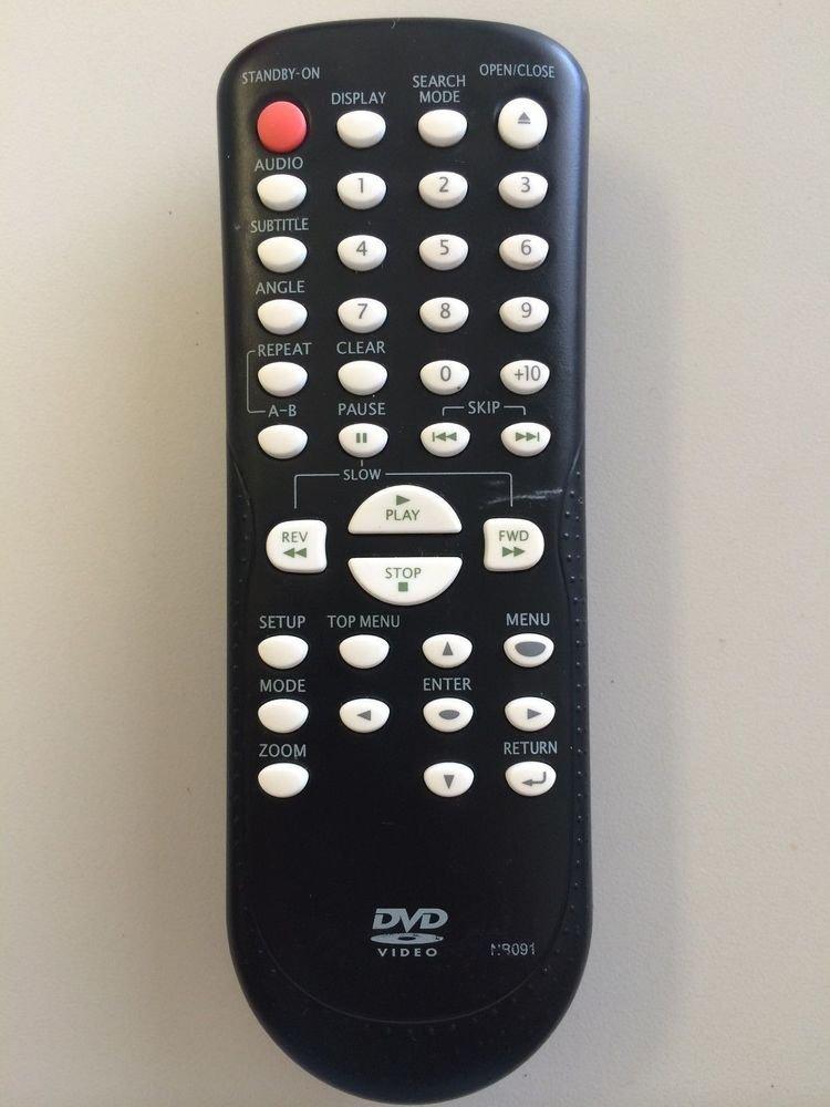 NB091 Remote Control = Emerson EWD7004 EWD70V5SK EWD71V5SK Emerson Funai NB093
