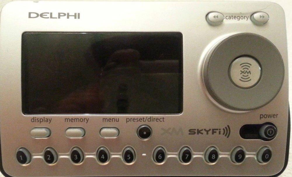 SA50000 Delphi satellite radio receiver = XM SKYFI