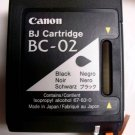 Canon BC 02 BLACK ink printer BJ 100 200 210 230 ex multipass 1000 fax B340 B360