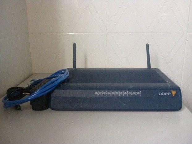 Ubee DDW3612 Cable Modem Gateway Wireless DOCSIS 3.0 WiFi 342Mbps USB switch