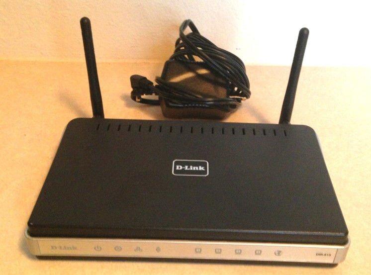 D-Link DIR-615 wireless  router w/EXTRAS WIFI 4 port 300mbps dlink dir615