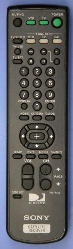 SONY RM Y139 REMOTE CONTROL = SAT 55B A55 B3A50 B50 B55 B65 satellite receiver