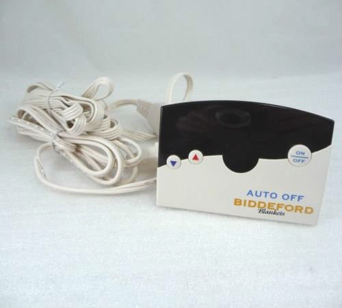 Biddeford Electric heating Blanket Controller TC12B0 D 76PA 4 prong plug VAC
