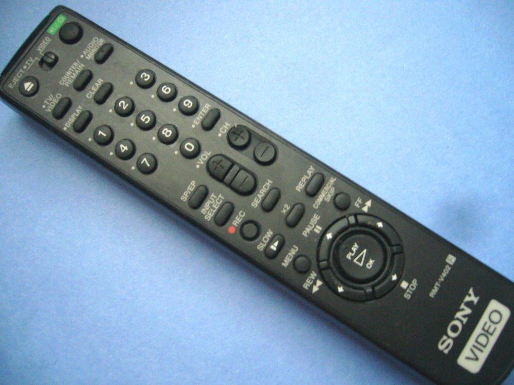 Sony RMT V402 remote control SLVN500 SLVN55 SLVN68 SLVN700 SLVN77 SLVNS5 SLNV55