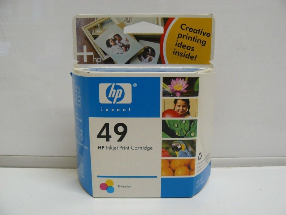 49 COLOR ink jet HP DeskJet 697 695 694 693 692 690 682 680 672 670 660 printer