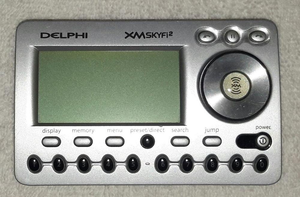 SA10101 Delphi satellite radio receiver = XM SKYFI