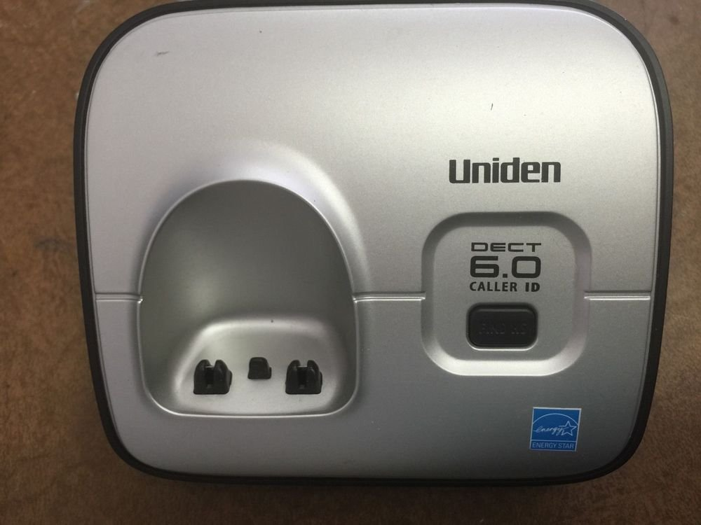 Uniden D1660 main charger base - handset tele phone charging power cradle stand