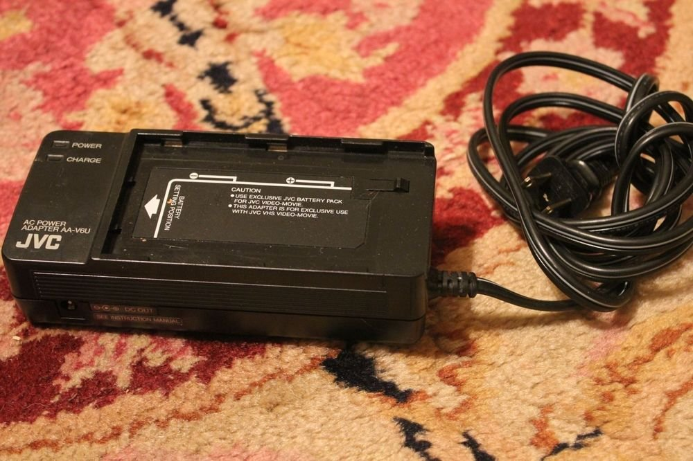 JVC AA V6U camcorder ac battery power charger 14v 9.6v adapter supply AAV6U plug