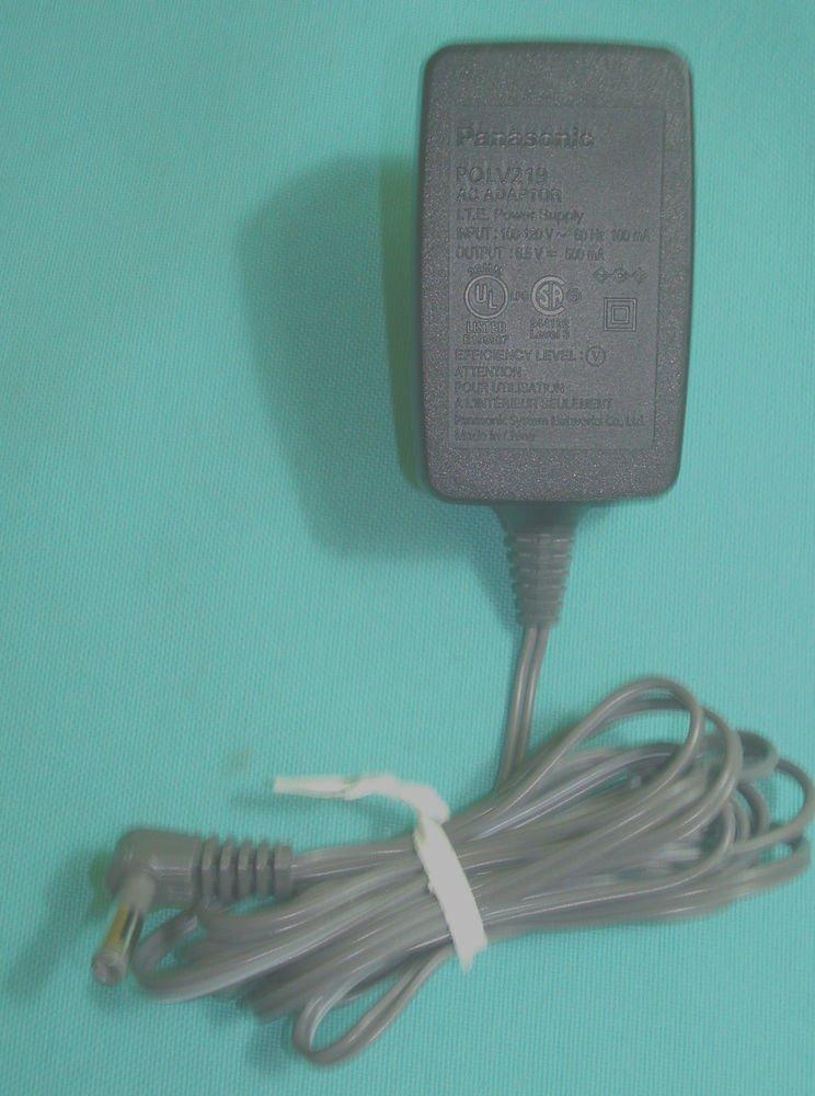 6.5v Panasonic power supply - PNLC1008ZA KX TG1062m TG1061m TGA106m base ac plug