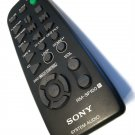 genuine Sony RM-SF100 remote control - HCDF100 HDCF100 MDSJE920 MHCF10 MHCF10