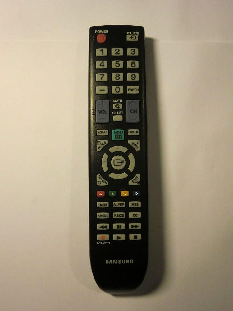 REMOTE CONTROL SAMSUNG BN59 00997A - TV PN 42C450 B1D A1D 50C430A1D 50C450B1DXZA