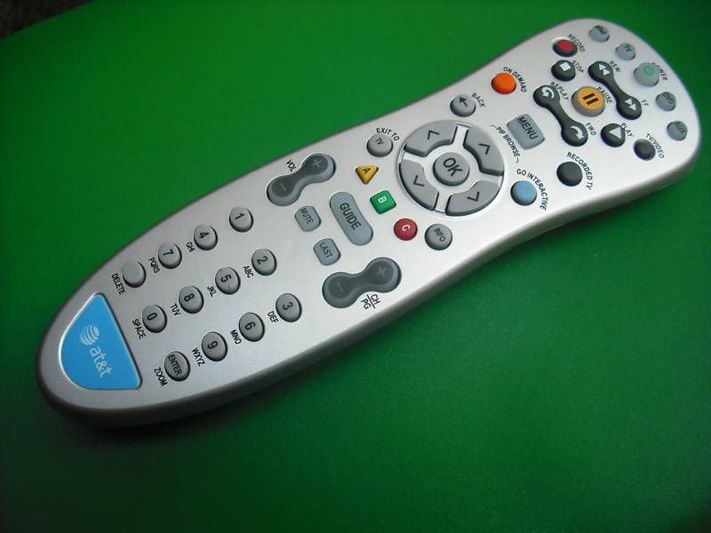 REMOTE CONTROL - AT T Cisco Scientific Atlanta cable receiver IPN330HD IPN430MC