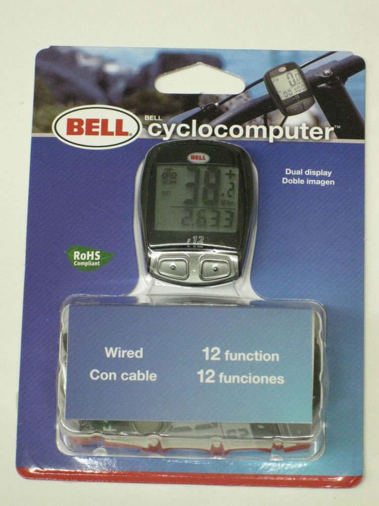 Bell Cyclocomputer 12 function bicycle bike SPEEDOMETER odometer trip distance