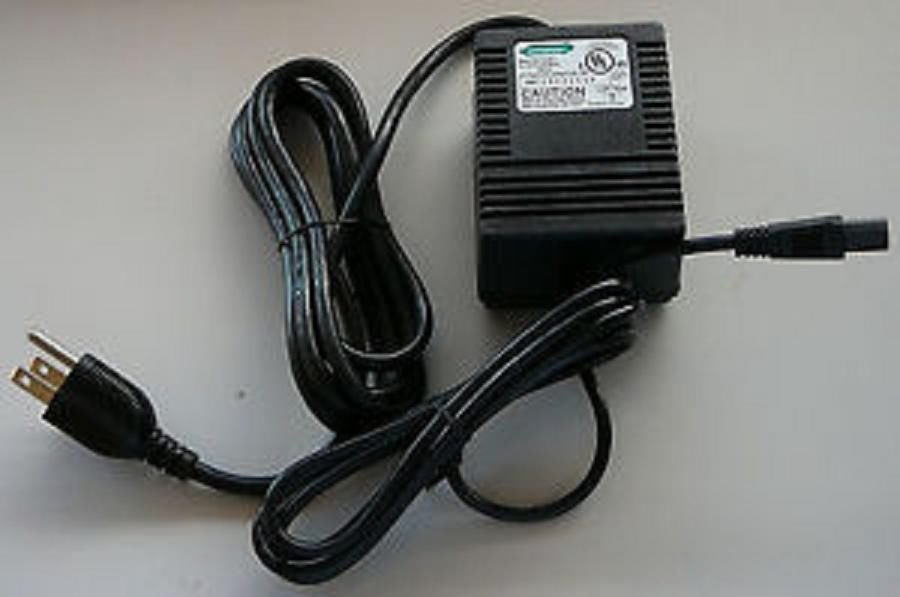 24v 24 volt HYPERCOM power supply - credit card machine cable unit ac plug box