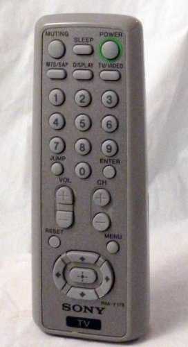 Sony RM Y173 Remote Control KV 13FS110 KV 13M53 KV 14FV300 KV 20F312 KV 20F5100