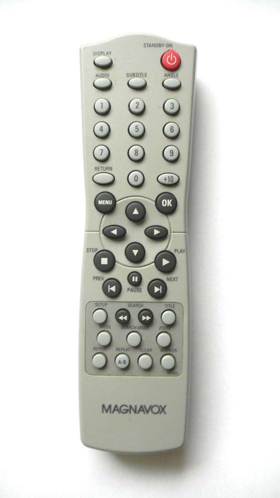 MAGNAVOX DVD PLAYER CD REMOTE CONTROL NA463 NA463UD MDV110 17B MDV456 17B