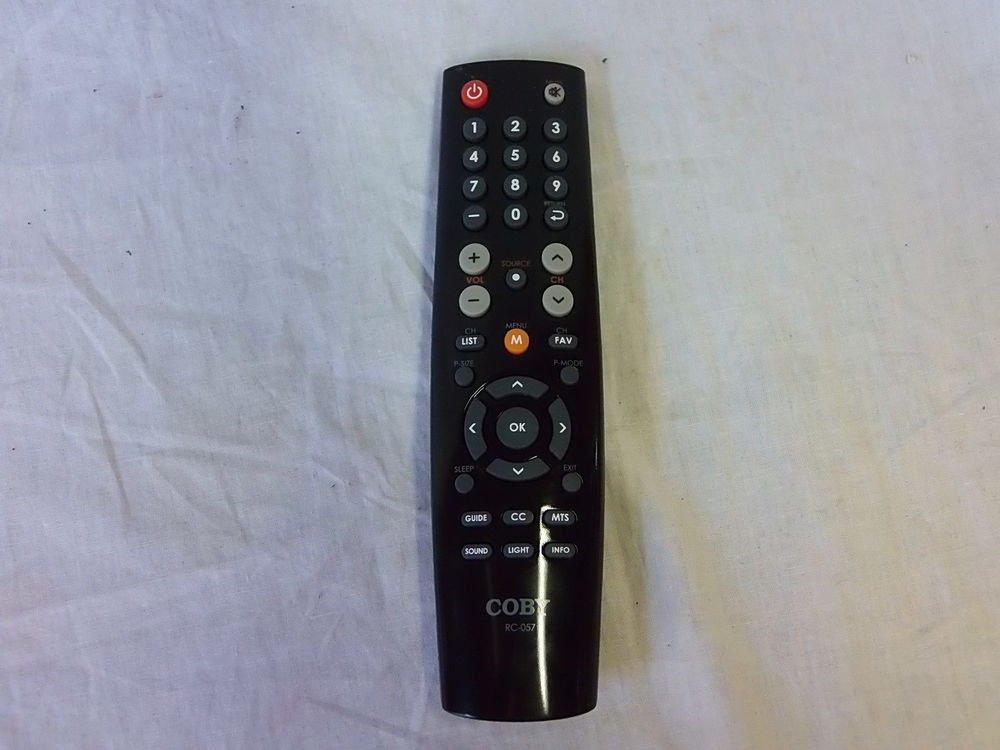 COBY RC 057 REMOTE CONTROL - LEDTV3216 LEDTV2226 TFTV3229 TFTV1925  LEDTV2326