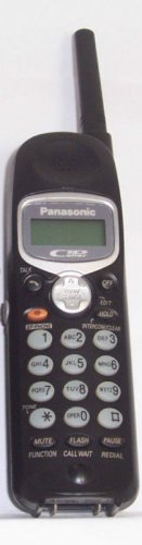 Panasonic KX TGA230B Caller ID Cordless Phone Handset TGA230 telephone wireless