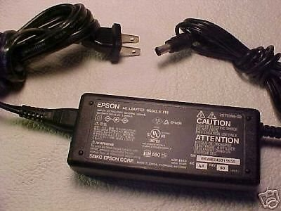 15.2 volt Epson power supply - Perfection Photo 1250 scanner cable unit plug VDC