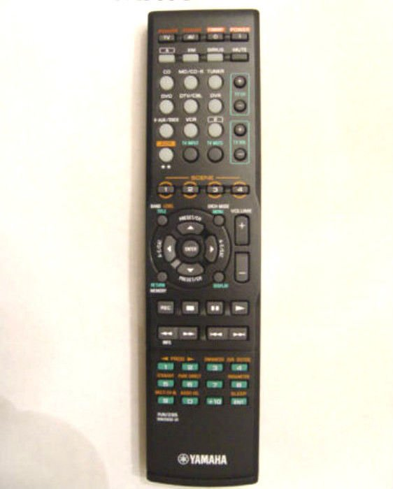 genuine original YAMAHA RAV285 REMOTE CONTROL WN05830 amp tuner DVR DTV cable MD