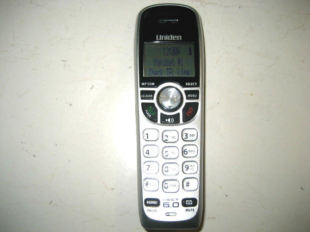 Uniden Dect 1560 HANDSET - cordless expansion telephone remote 6.0 GHz phone