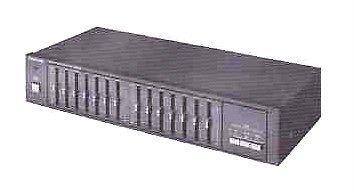 Panasonic SH 250 stereo GRAPHIC EQUALIZER Matsushita Japan console box w/power
