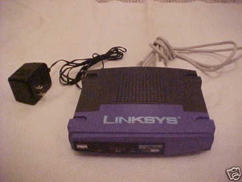 BEFSR41 version 2.0 Linksys EtherFast Cisco cable DSL router internet broadband