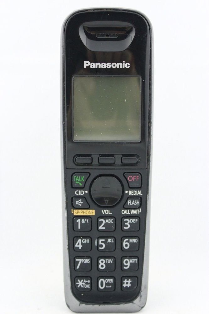 KX TGA653 blue Panasonic HANDSET - TG6521 TG6572 c unit tele phone cordless 6.0