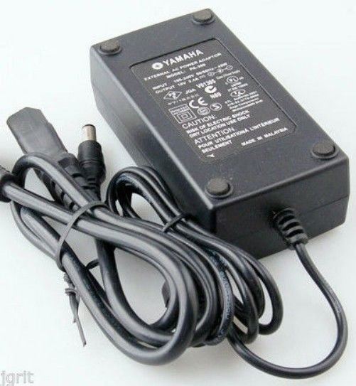 genuine adapter = Yamaha PSR 2000 2100 keyboard piano cord brick PSU ac dc power