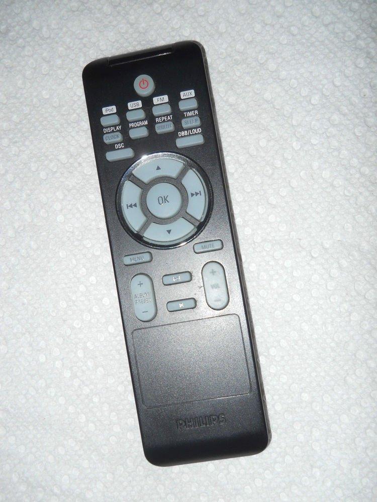 PHILIPS PRC500 46 REMOTE CONTROL = speaker system DC177 37 B USB DBB iPOD DSC