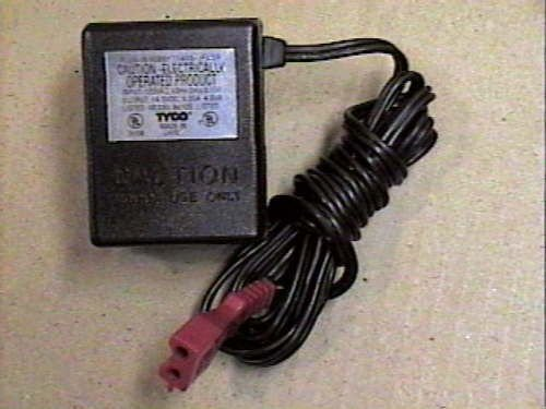 Tyco 14v dc ADAPTER Electric Racing Power Pack supply charger cord cable plug ac